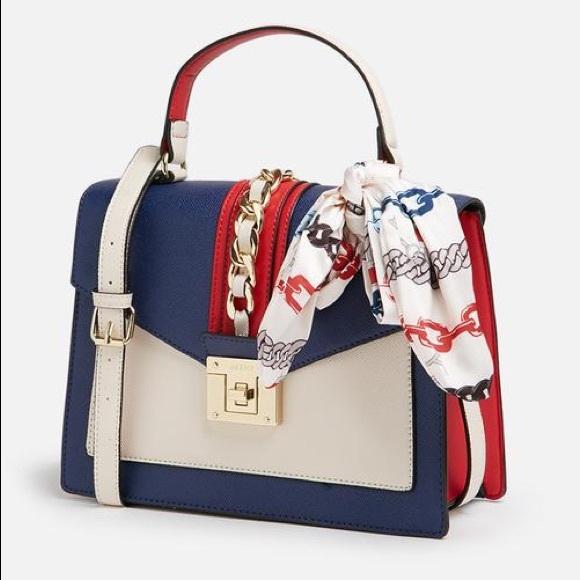 ea4b102d07f Aldo s Glendaa Navy Color Bag